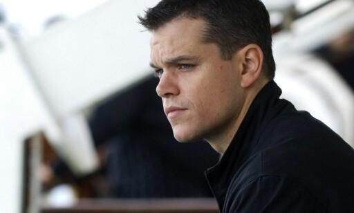 IKKE ØNSKET: Matt Damons rolle vil «trivialisere alvoret i anklagene mot menn som driver med seksuell trakassering», heter det i oppropet. Foto: NTB Scanpix