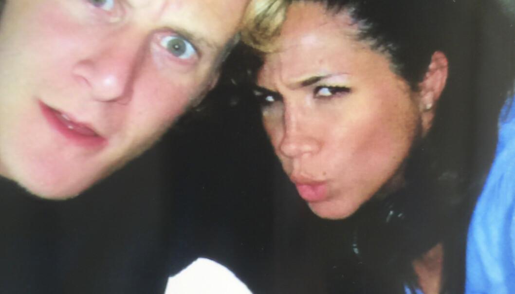 <strong>SKILT ETTER TO ÅR:</strong> Kun et par år etter bryllupet ble Trevor og Meghan skilt. Foto: Splash News