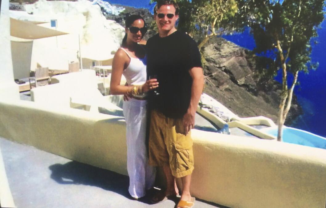 <strong>ROMANTISK:</strong> Meghan Markle og Trevor på romantisk ferie sammen. Foto: Splash News.