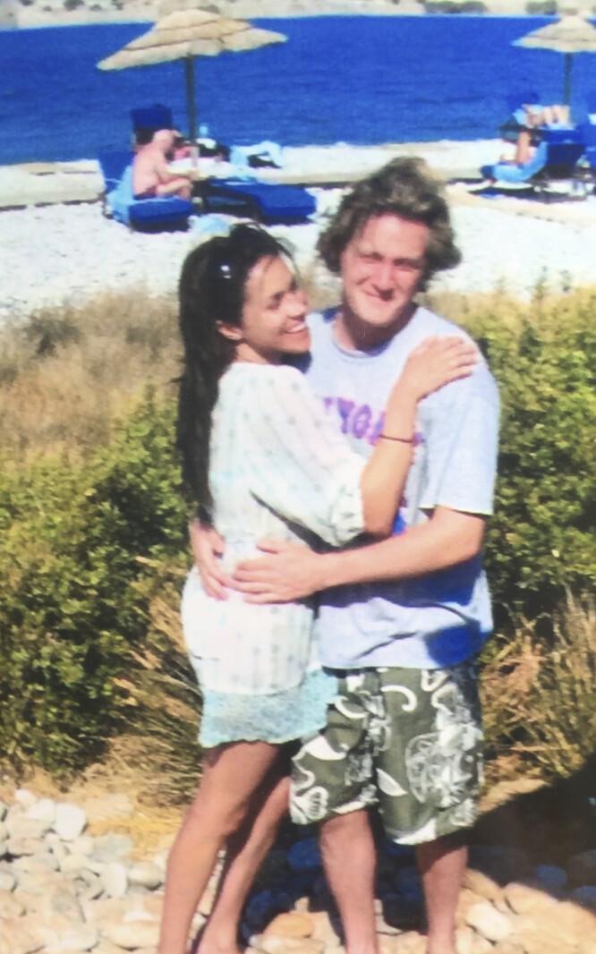 <strong>VAR FORELSKET:</strong> Meghan og Trevor var sammen i seks år før de giftet seg i 2011. Foto: Splash News.