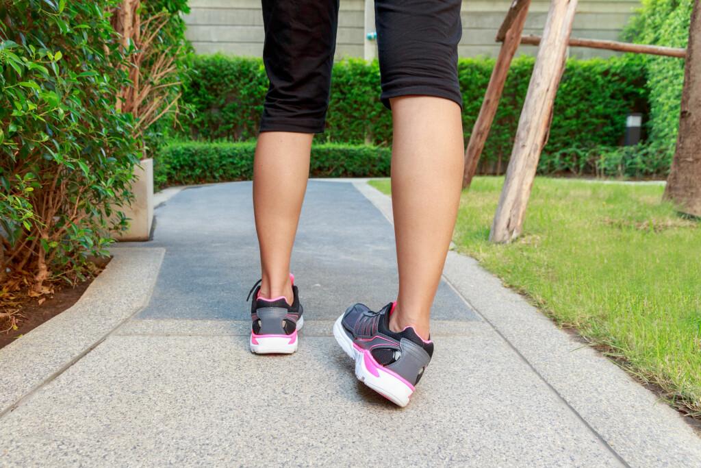 OVERTRÅKK: Fem prosent av overtråkk-skader fører til bruskskader i ankelen.  Foto: Shutterstock
