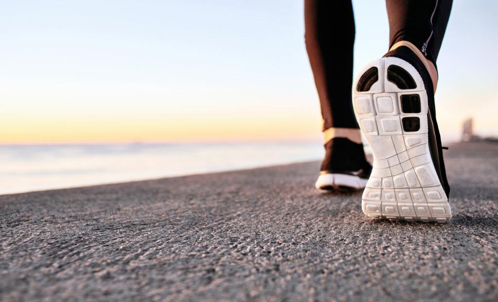 UTSATT: Løpere er utsatt for betennelse i fotsålens seneplate, plantar fascitt.. Foto: NTB Scanpix