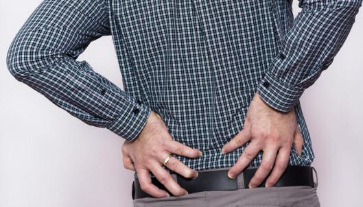 Ulike typer ryggsmerter og sykdommer i ryggen