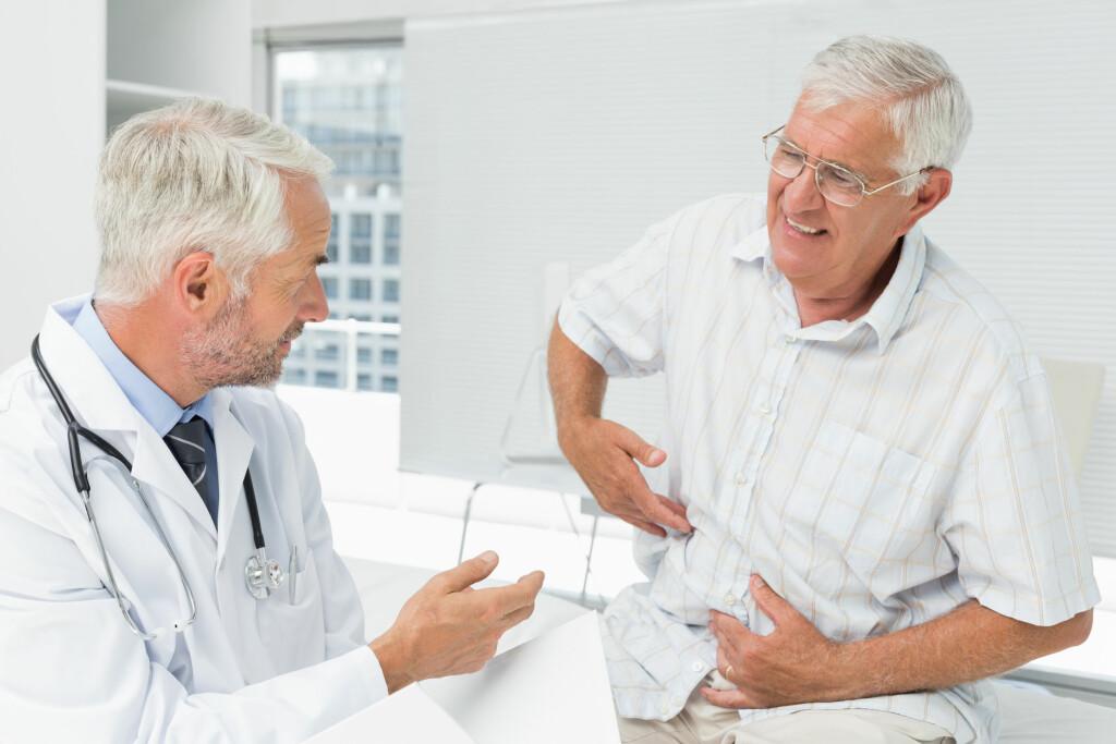 MAGEKREFT: Magesekkreft rammer oftest eldre personer. Foto: NTB Scanpix