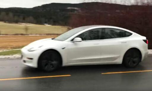 image: Her er Tesla Model 3 i Norge