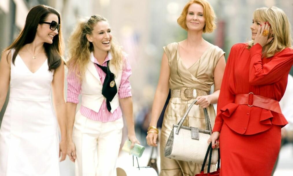 SEX OG SINGELLIV: Det er flere ting vi kan lære av Samatha, Carrie, Charlotte og Miranda. Foto: HBO