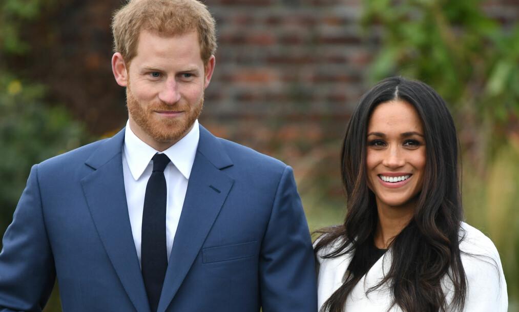 <strong>GIFTER SEG I MAI:</strong> Prins Harry og Meghan Markle gifter seg 19. mai 2018. Foto: Reuters/ NTB scanpix