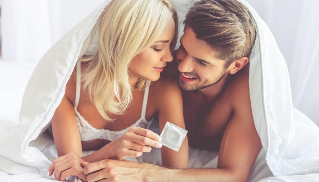 KONDOM IKKE SÅ EFFEKTIVT: Kondom gir bare delvis beskyttelse mot HPV. FOTO: NTB Scanpix