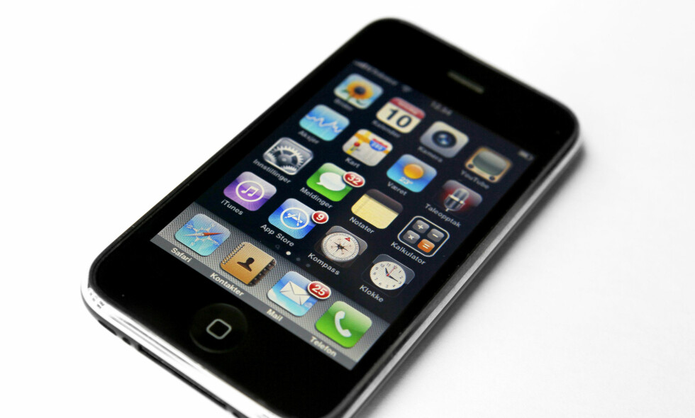 SETTER NED PRISEN: Apple ber om unnskyldning. Foto: Erlend Aas / NTB Scanpix