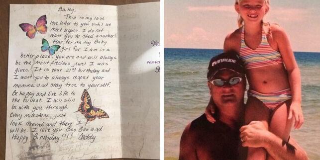 image: Faren døde av kreft da hun var 16. Så dukket blomstene opp på døra