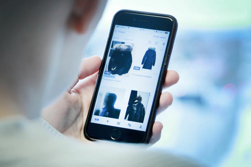 <strong>POPULÆRT:</strong> Å kjøpe og selge brukte jakker og klær på blant annet Finn.no og Facebook er en fin måte å spare penger på. Dessverre blir ikke alle kjøpere like fornøyd, og da kan de ha krav på pengene tilbake. Foto: Ole Petter Baugerød Stokke