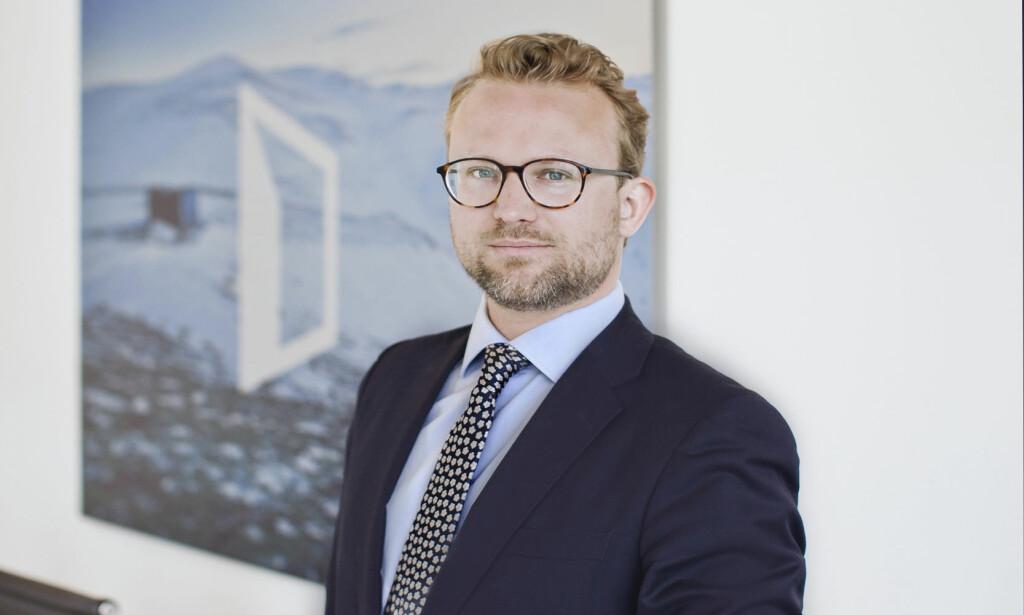 ØNSKER FORBEDRINGER: Erik Lundesgaard i Eiendom Norge vil at energimerkeordningen skal bli lettere å forstå for forbrukerne. Foto: Solfrid Sande.