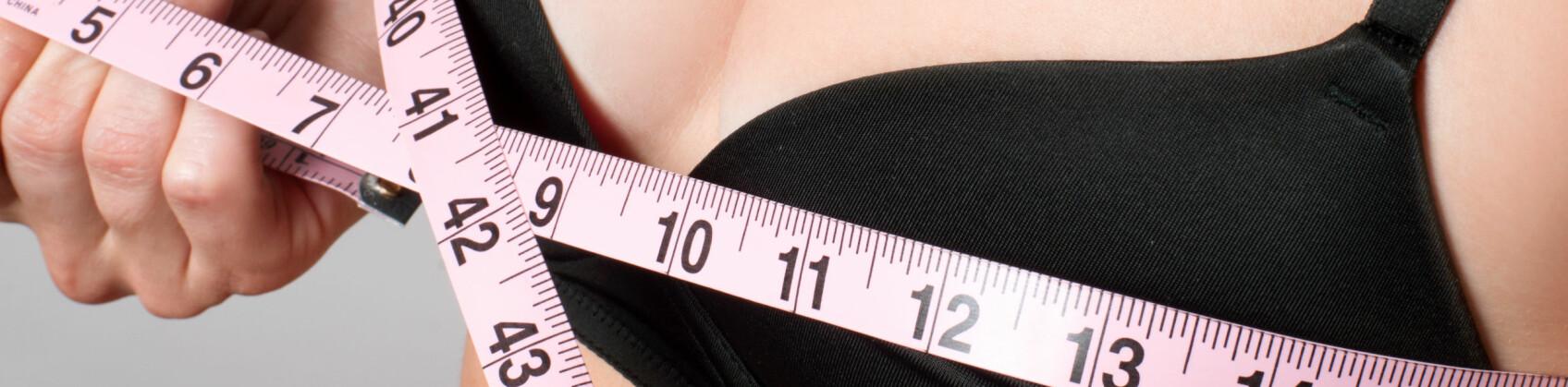 FEIL STØRRELSE: Ifølge KK.no bruker hele syv av ti kvinner feil BH-størrelse. FOTO: Scanpix