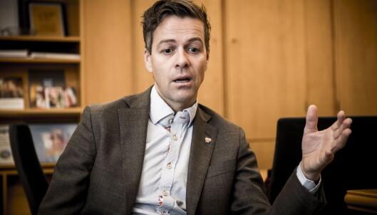 KINOAKTUELL: Krf-politiker Knut Arild Hareide har stemmen til vismannen Baltazar i «Stjernen». Foto: Lars Eivind Bones / Dagbladet