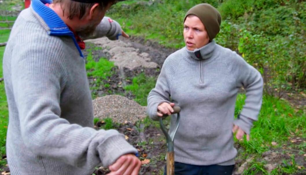 MISFORNØYD: Halvor Sveen og Eunike Hoksrød fikk tilbud om oppfølging i etterkant av «Farmen», men Eunike mener tilbudet ikke var bra nok. Foto: TV 2
