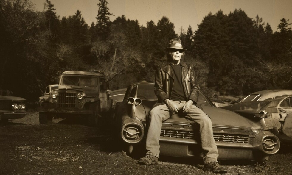 IKKE BARE SKRAP: Neil Young er en produktiv herremann, og er her igjen - nå med et album som har mer for seg enn hans siste øvelser. Foto: Danny Clinch