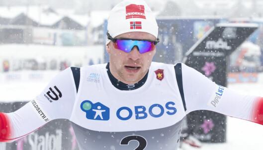 Fredrik (22) banket Russlands nye stjerne. Vil gjøre som Klæbo