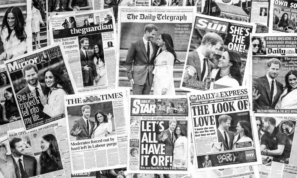 MEGHAN MARKLE OG PRINS HARRY: Hele verden har hatt øynene rettet mot Storbritannia de siste dagene ettersom det i slutten av november ble annonsert at prins Harry har gått ned på kne og fridd til kjæresten Meghan Markle. Foto: NTB Scanpix