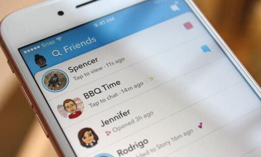 image: Store endringer i nye Snapchat