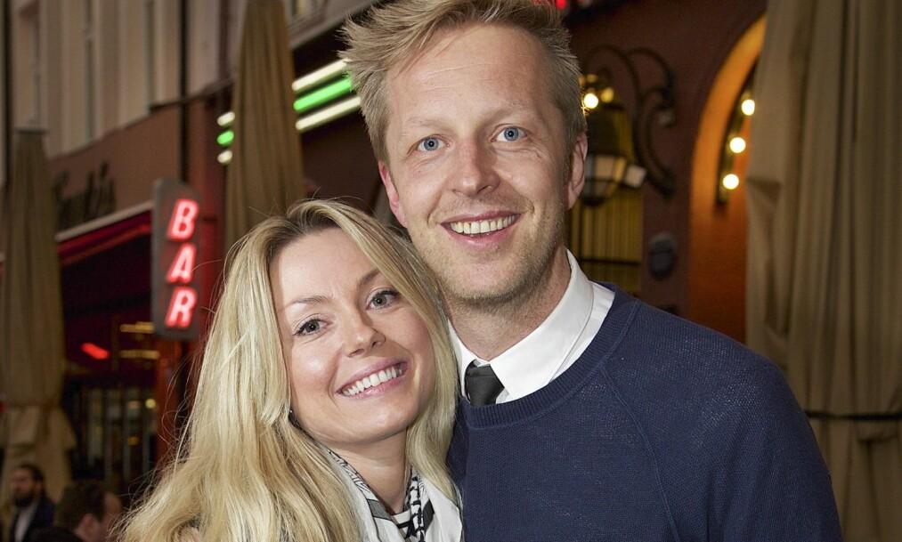 <strong>OVERRASKET MED FRIERI:</strong> Fridtjof Nilsen overrasket samboeren Katrine med en forlovelsesring under en tur til Nord-Sverige tidligere i år. Foto: Tore Skaar, Se og Hør.