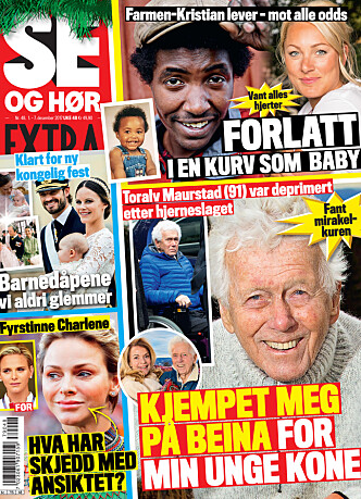 <strong>I SALG NÅ:</strong> I nyeste nummer av Se og Hør Extra kan du lese mer om Fridtjofs spesielle frieri. Faksimile Se og Hør.