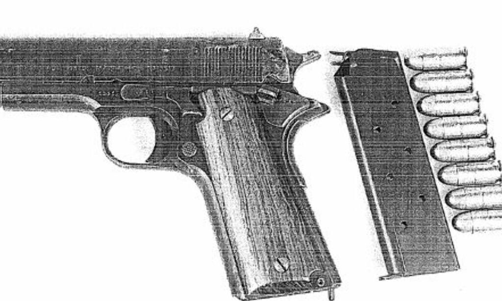 image: Pistol fra Forsvaret dukket opp under madrassen til fryktet gjengleder i Oslo