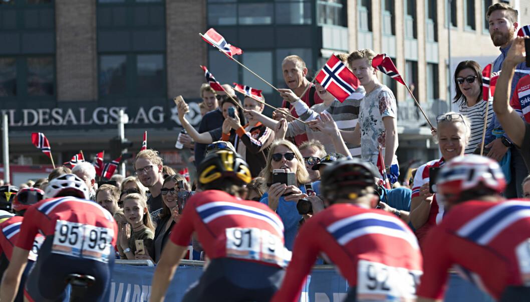 <strong>SYKKEL-VM:</strong> Sykkel-VM i bergen i fjor . Foto: Marit Hommedal / NTB scanpix