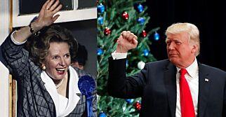 image: Fra Thatcher og inn i Trumps armer