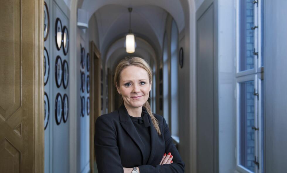 INGEN KOMMENTAR: I mars sa Linda Hofstad Helleland at hun var beæret over rollen som ambassadør for She Decides. Nå sier hun ingen verdens ting. Foto: Lars Eivind Bones / Dagbladet
