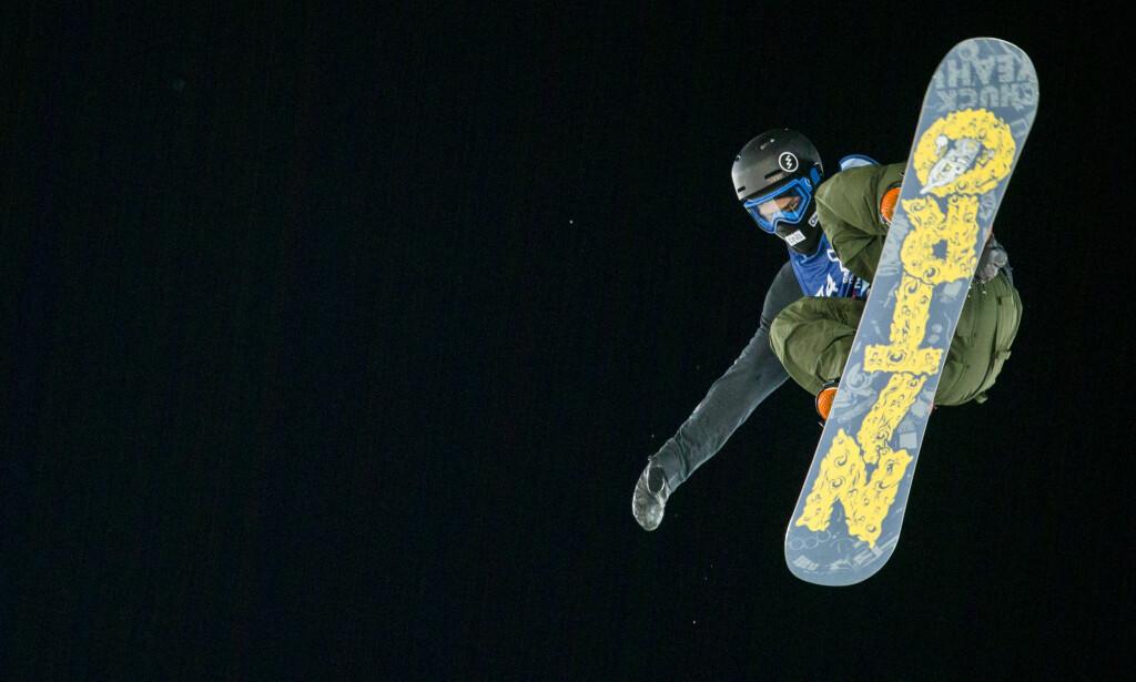 BIG AIR: Torgeir Bergrem kan bli en het kandidat til pallplass på Big Air i snowboard. Foto: Vegard Wivestad Grøtt / NTB scanpix