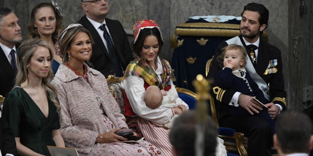 image: Se bildene fra prins Gabriels dåp