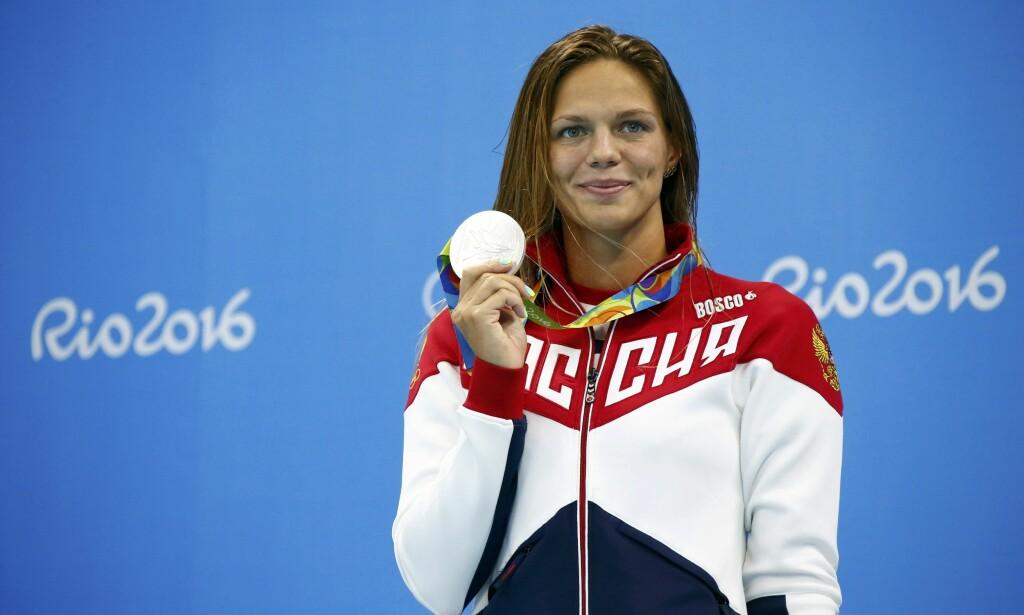 DOPINGTATT: Julija Efimova er tatt for doping to ganger, og har sonet utestengelser for det. Foto: REUTERS/David Gray