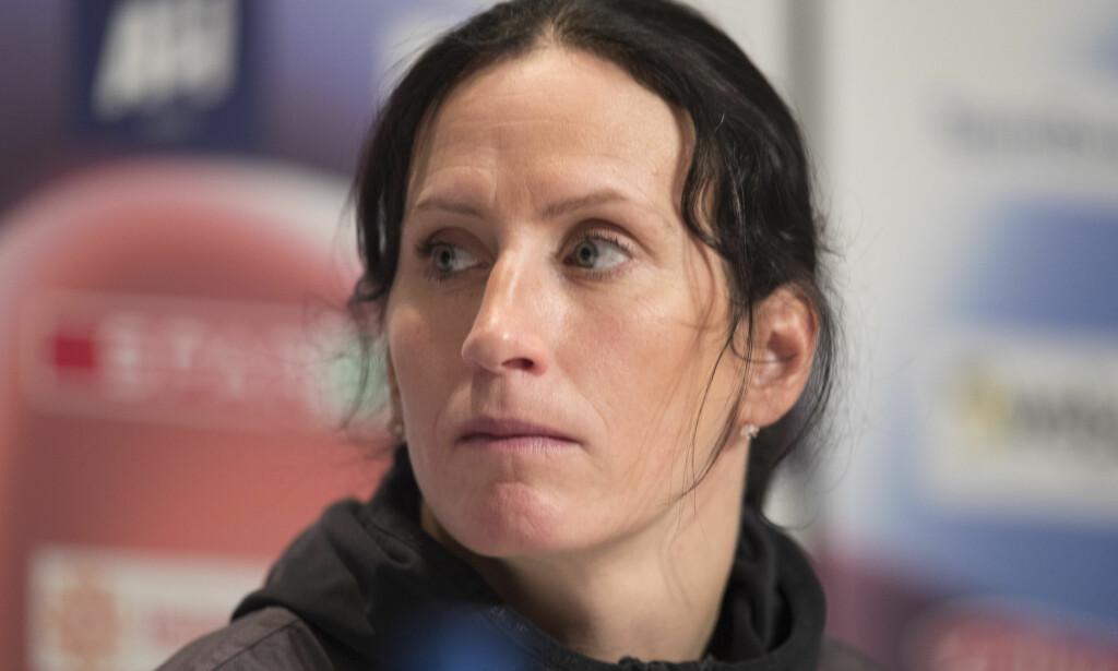 SPENT FØR SPRINTEN: Marit Bjørgen skal overbevise seg selv om at hun er i olympisk sprintform i Lillehammer lørdag. Foto: Terje Bendiksby / NTB Scanpix