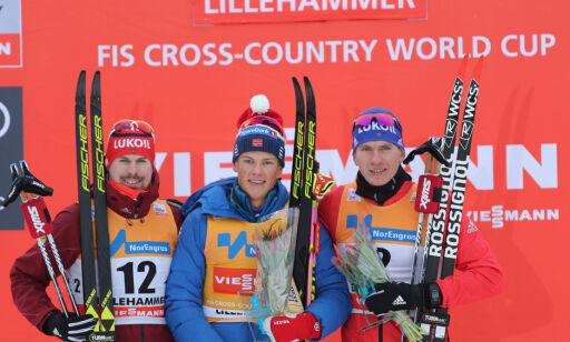 image: Totalt sjanseløs mot Klæbo. Men få Northug klar til OL!