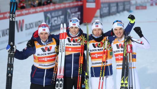 Graabak spurtet inn til norsk seier