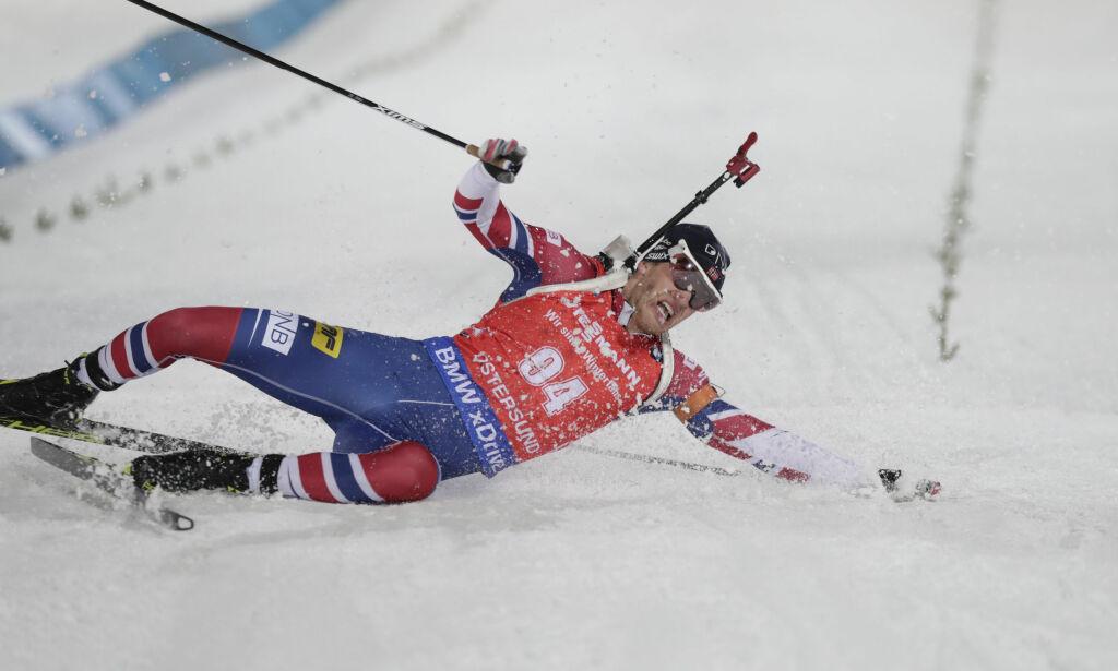 image: Tarjei Bø slo Fourcade med 0,7 sekunder. Første seier på over fire år