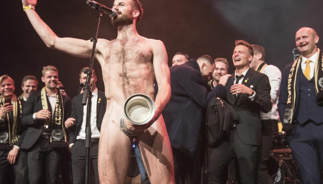<strong>GOD STEMNING:</strong> På Lillestrøms gullfeiring. Foto: Terje Pedersen / NTB scanpix