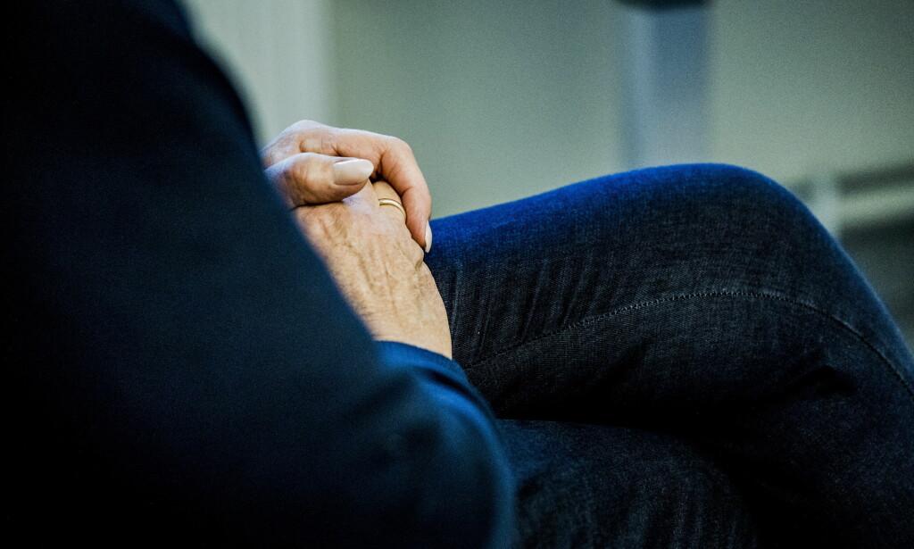 - LETTERE Å SNAKKE OM KREFT: Kvinnen (56), som Dagbladet har snakket med, forteller at hun ikke skjønner hvorfor hun ventet så lenge med operasjon. Foto: Christian Roth Christensen