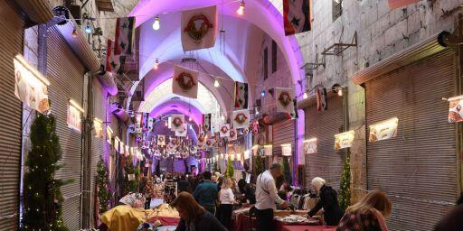 image: Aleppos verdensberømte basar har reist seg fra asken