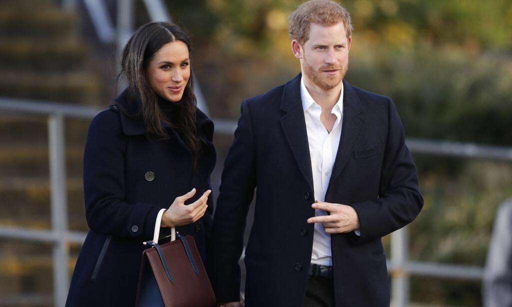 KREVENDE: Neste år gifter skuespiller Meghan Markle seg med prins Harry. Hun har imidlertid en lang vei å gå mot det å bli britisk statsborger. Foto: AP, NTB scanpix