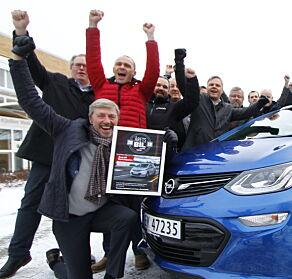 image: Ampera-e kåret til Årets Bil 2018