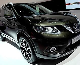 Nissan Qashqai med syv seter heter X-Trail
