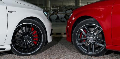 Mercedes-Benz A45 AMG vs Audi S3