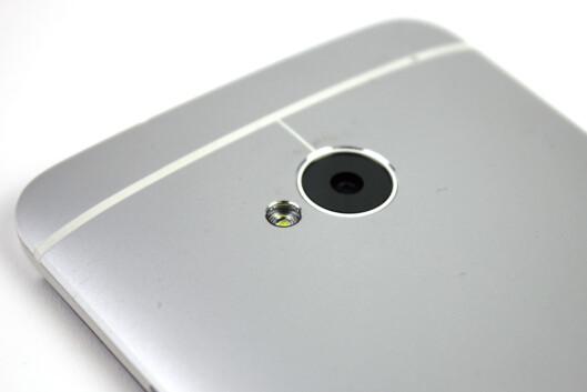 <strong>BRA:</strong> HTC One er en av de aller beste Android-mobilene til foto.  Foto: Ole Petter Baugerød Stokke