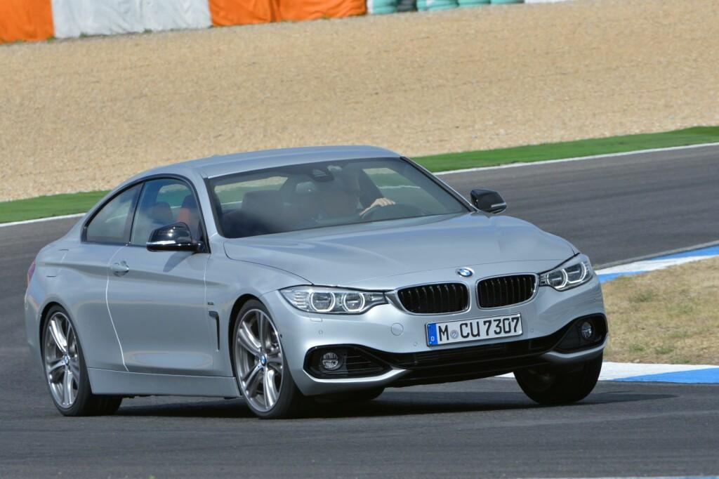 """Her får artikkelforfatteren sette kjøreegenskapene til nye BMW 4-serie på prøve - bilen oppfører seg suverent i alle situasjoner. I hvert fall den versjonen vi kjørte, """"Sport""""-utførelse med adaptivt understell, 19-tommers hjul og en av våre favorittmotorer - rekkesekseren på 3,0 liter med 306 hester og 400 newtonmeter hele veien fra 1.200 til 5.000 omdreininger!"""
