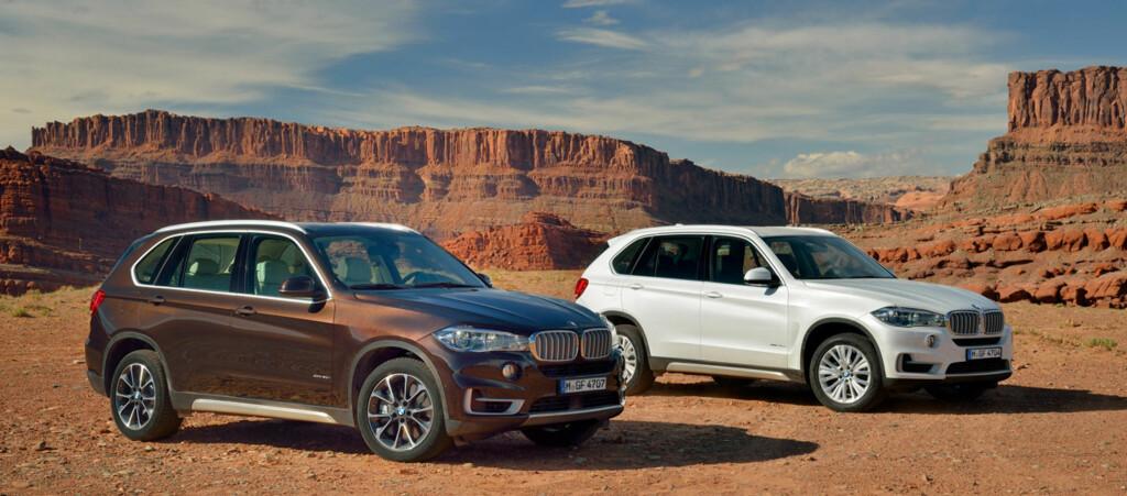 Det er mye kjent i nye X5, men det skulle bare mangle. Den er jo  fortsatt en X5.  Foto: BMW