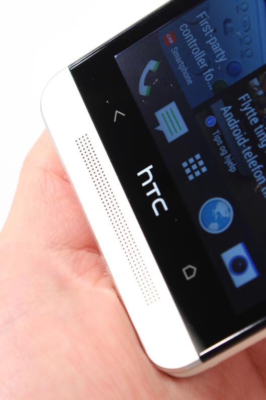 "<strong>IKKE FOR ALLE:</strong> DinSide vil ikke gi HTC One ""Anbefalt produkt""-stempel og terningkast seks, når batteritiden er såpass dårlig.  Foto: Ole Petter Baugerød Stokke"
