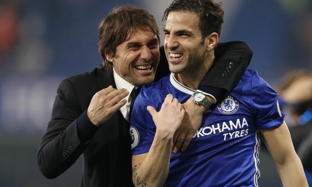 RYKTEFLOM: Antonio Conte vil at Chelsea skal stoppe ryktene om at han er på vei vekk. Foto: Reuters / John Sibley Livepic