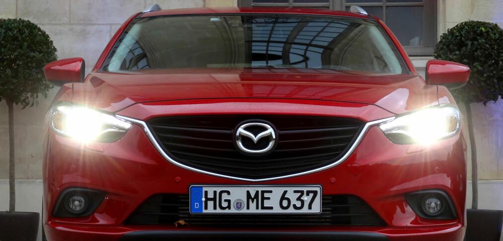 Prøvekjørt: Nye Mazda 6