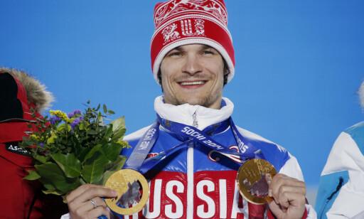 AMERIKANSK HJELP: Amerikaneren Vic Wild hadde tenkt å legge opp da Russland betalte for at han skulle satse videre som brettkjører hos dem. Det ga to gull i Sotsji. FOTO: Reuters/Eric Gaillard